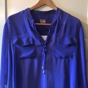Size XL Chico's blue top